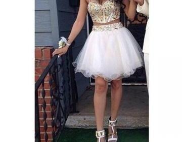 short prom dress, ho...