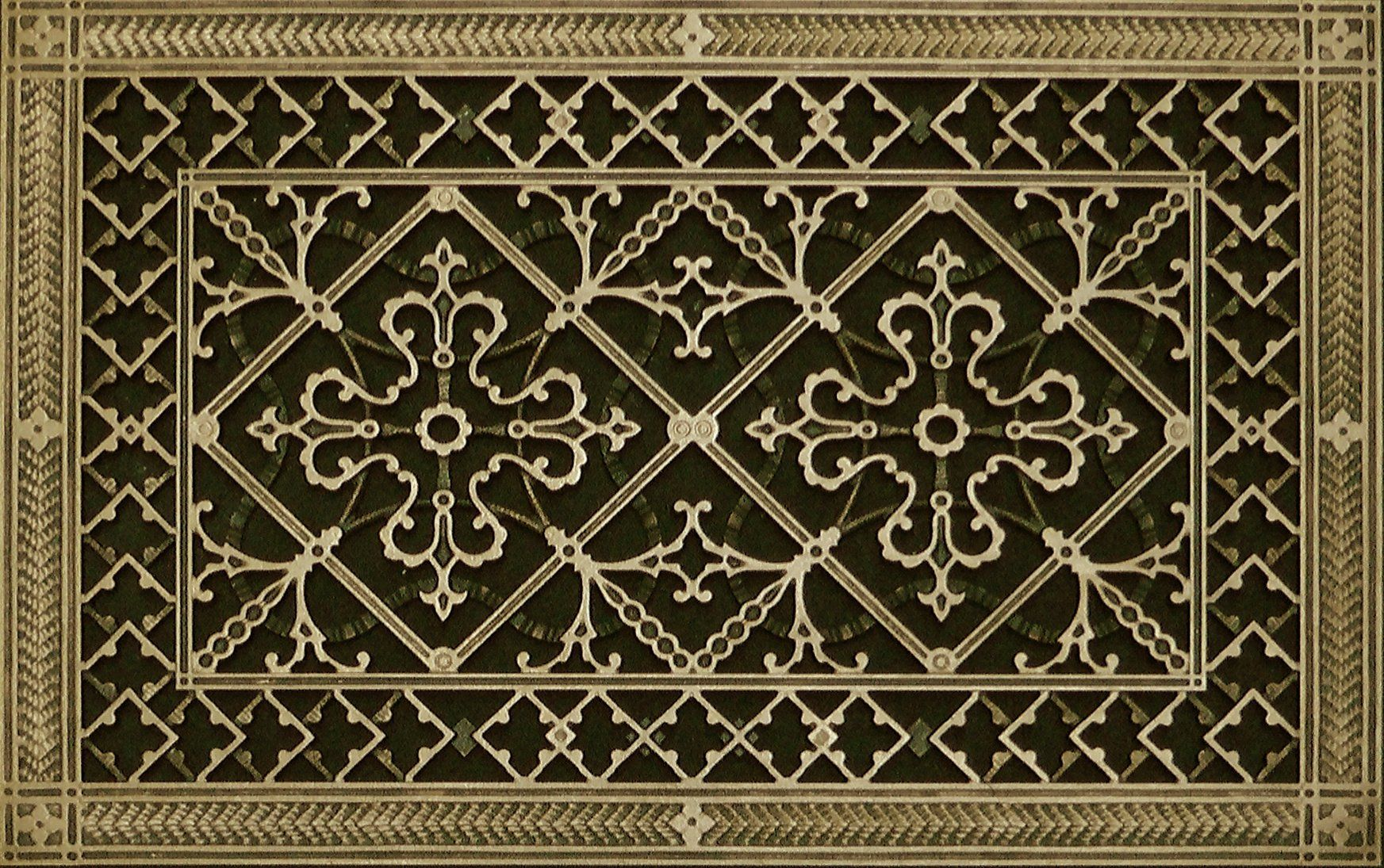 Decorative Heating and Air Conditioning Grille, Vent, or