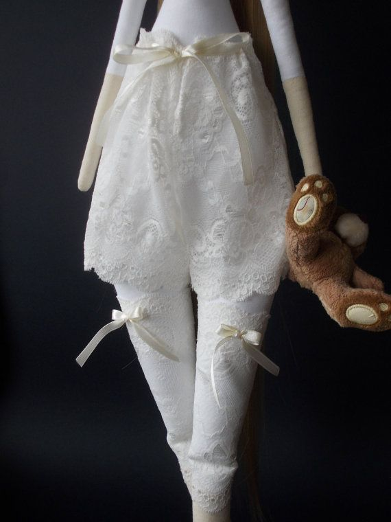 Blank Doll BODY for crafting - handmade doll- PreSewn and unstuffed ...