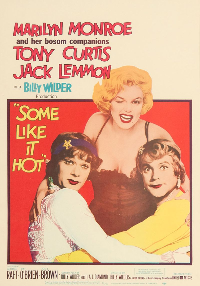 Some Like it Hot film poster, 1959