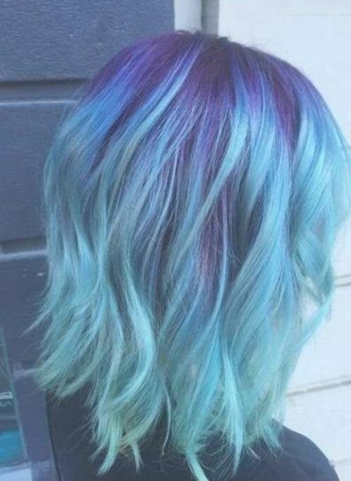 69+ New Ideas For Hair Blue Ombre Fun #hair – Sarina Roob
