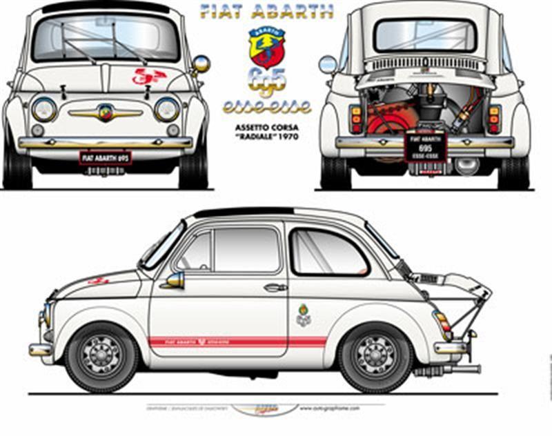 Abarth 695 Essesse Radiale 1970 Auto Da Corsa