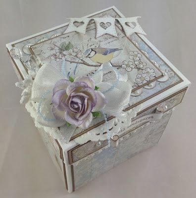 Cam-Cams scrappehjørne: Wedding Box Creative Scrapping