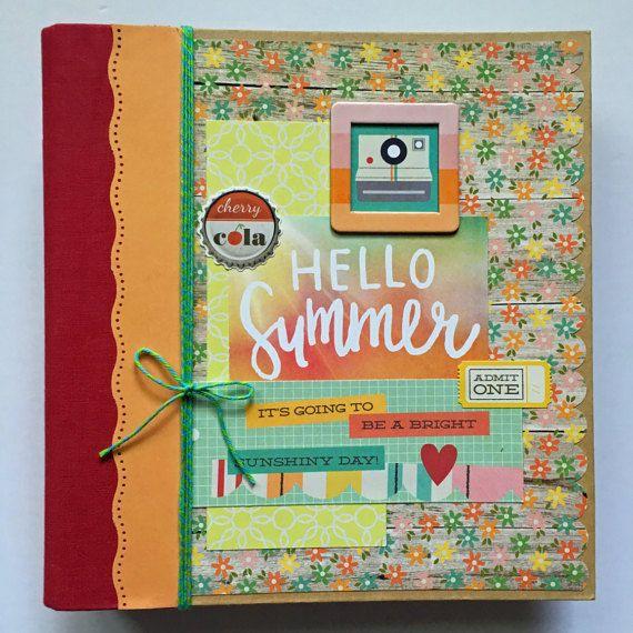 Premade Scrapbook Album Mini Album Mini By Scrapbookyourjoy
