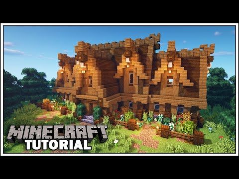 Minecraft Nordic House Tutorial [How to Build]