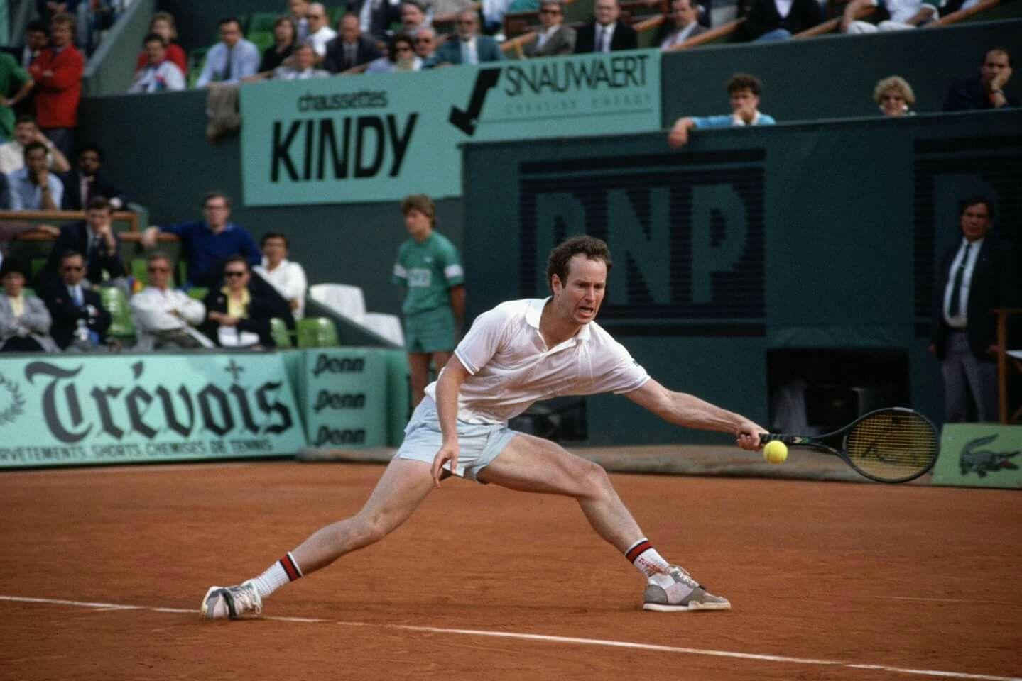 buy online cbfbe 323e9 John McEnroe - Roland Garros 1988