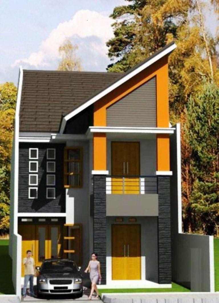 50 Desain Rumah Minimalis Type 21 2 Lantai | Typehom