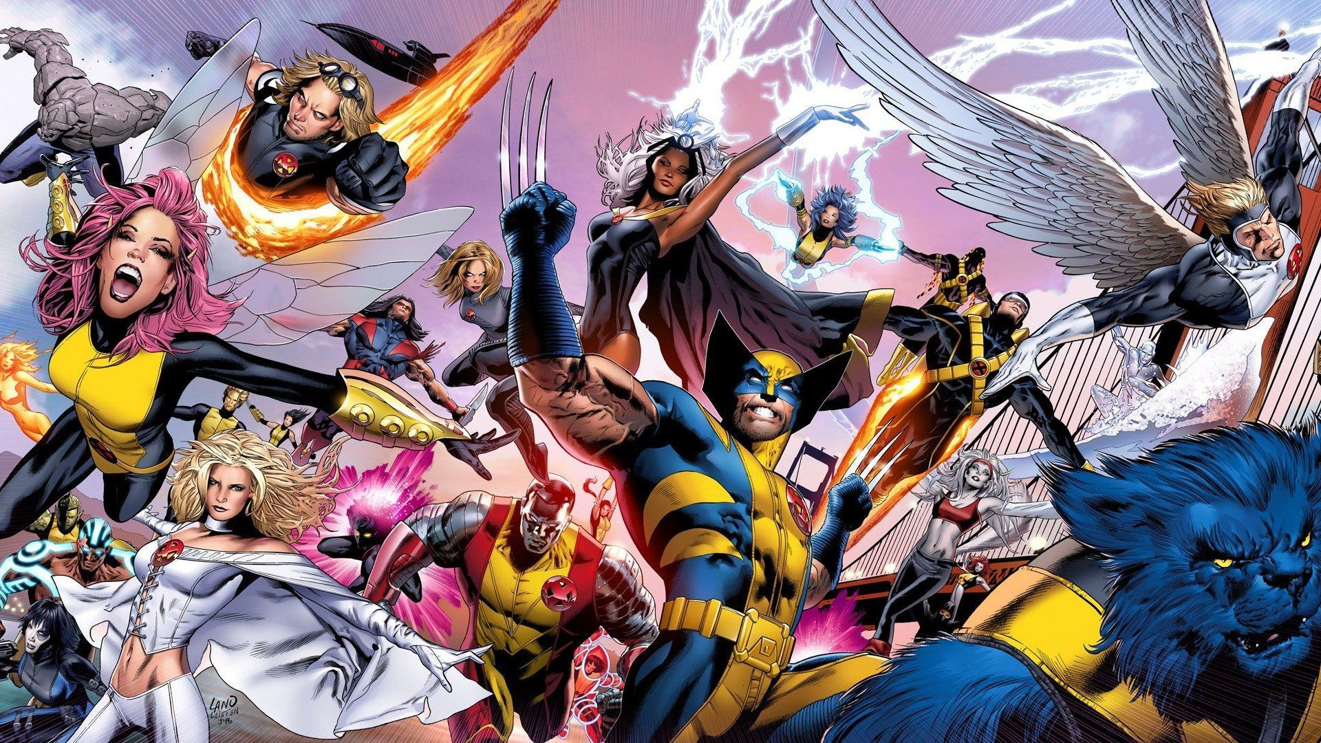 Stunning Marvel Storm Picture
