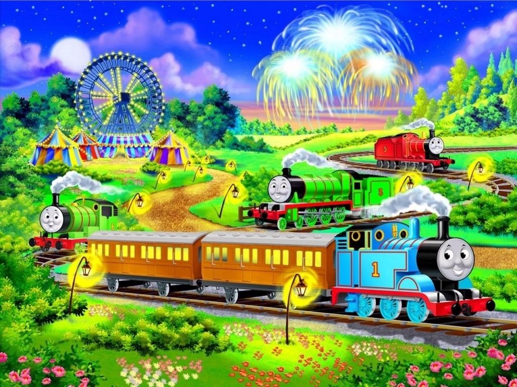 Thomas The Tank Engine Friends HD Wallpapers Backgrounds