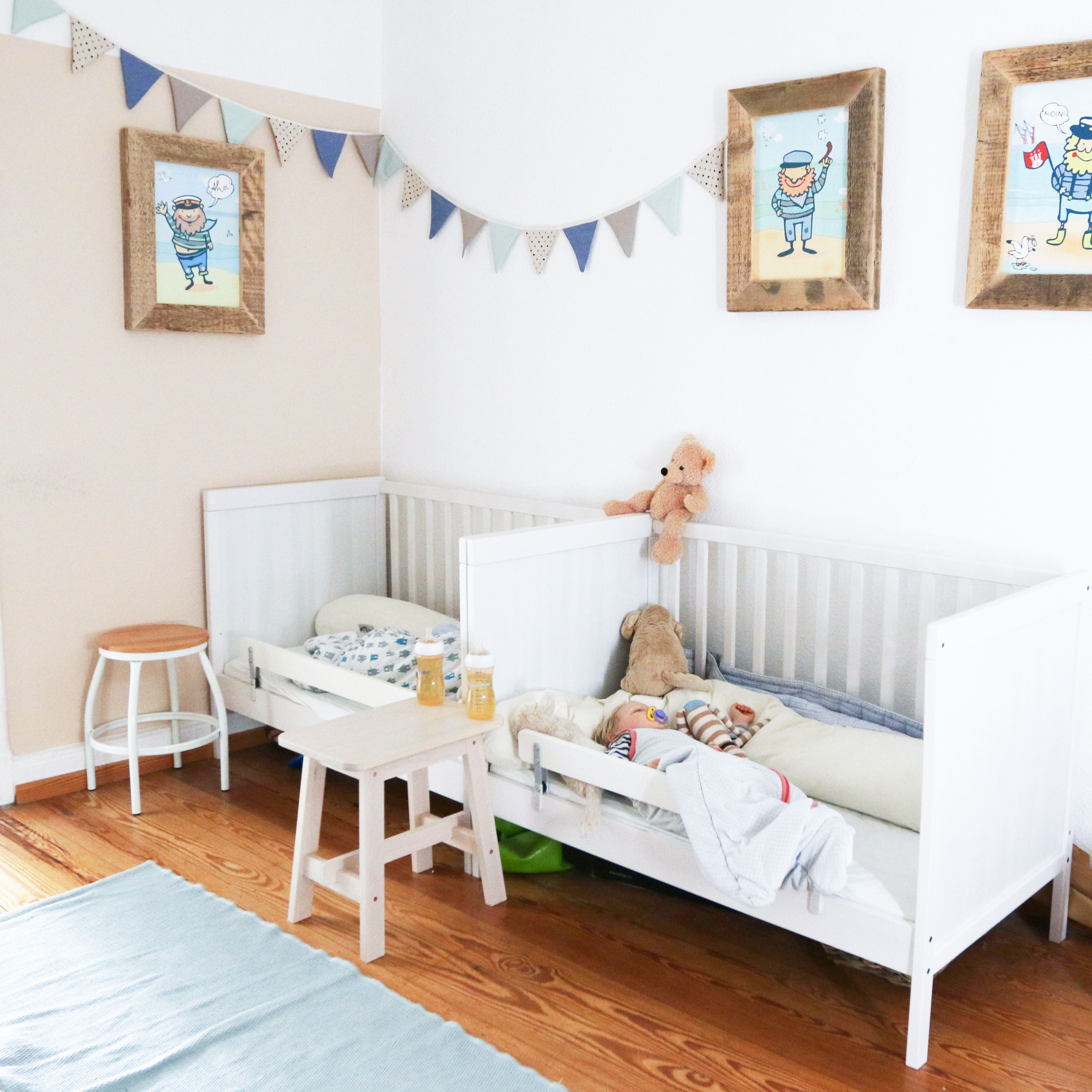 Kinderzimmer, Betten, Zwillingsbetten, zwillingszimmer | Interior ...
