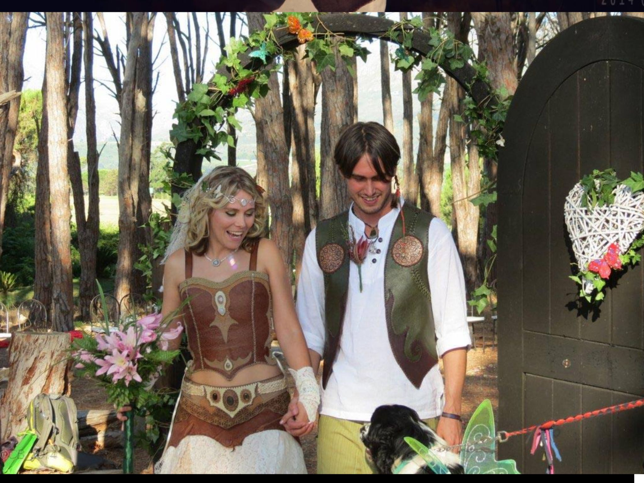 Earthy forest fairy wedding @ Winery Road Forest | Forest ...