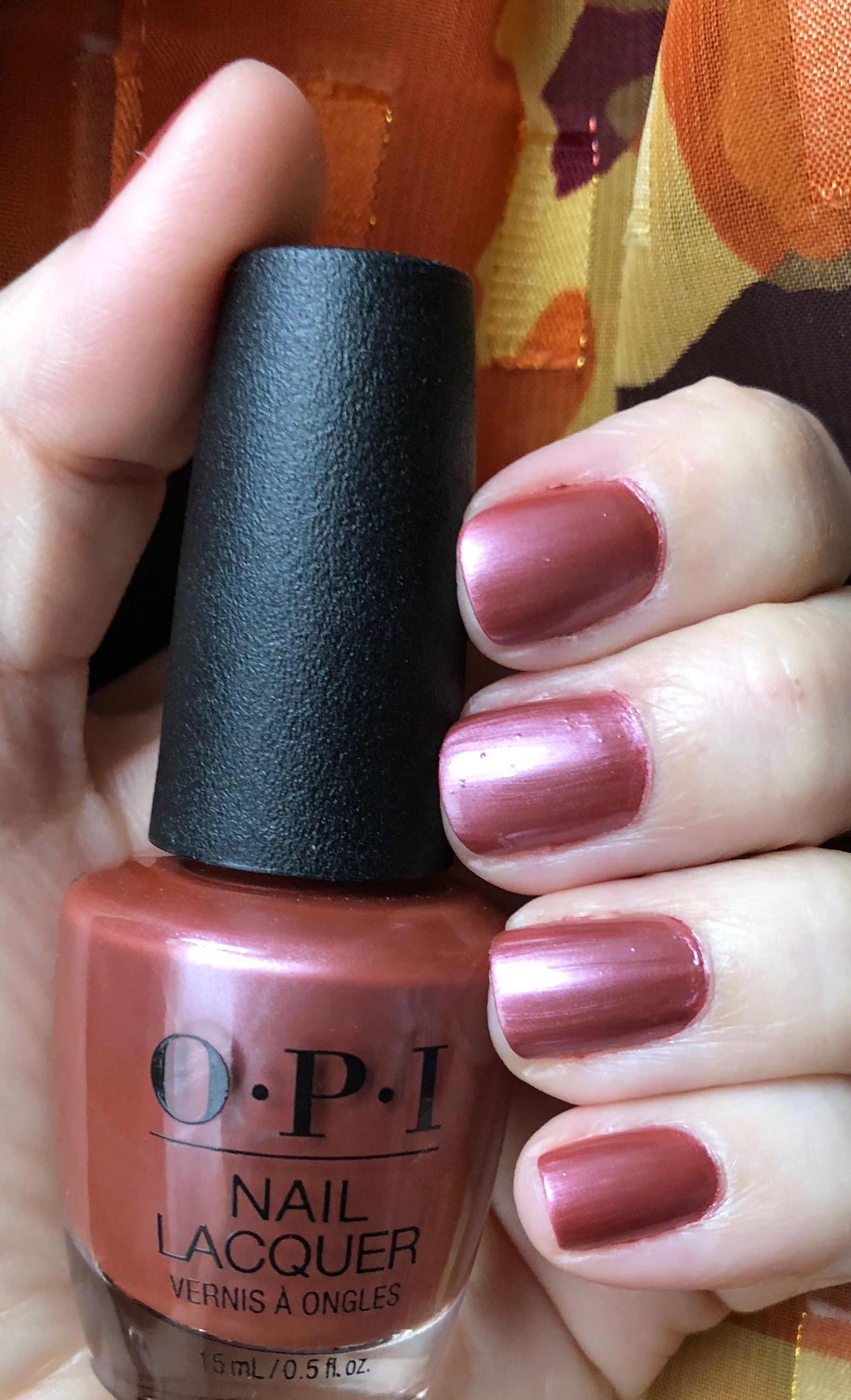 Autumn Is Here It S Time For Opi Chicago Champagne Toast Hair
