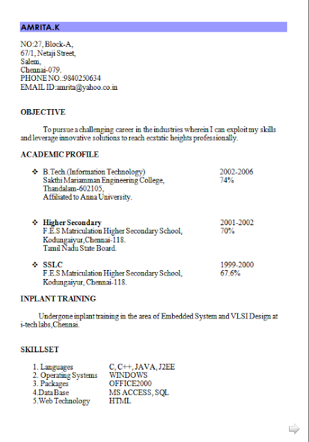 Curriculum Vitae Or Resume Free Download Sample Template Excellent