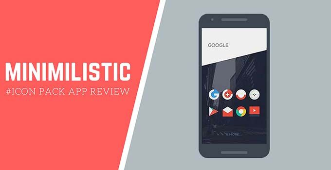 Minimalist Icon Pack App Review   Get Minimal Look   Android