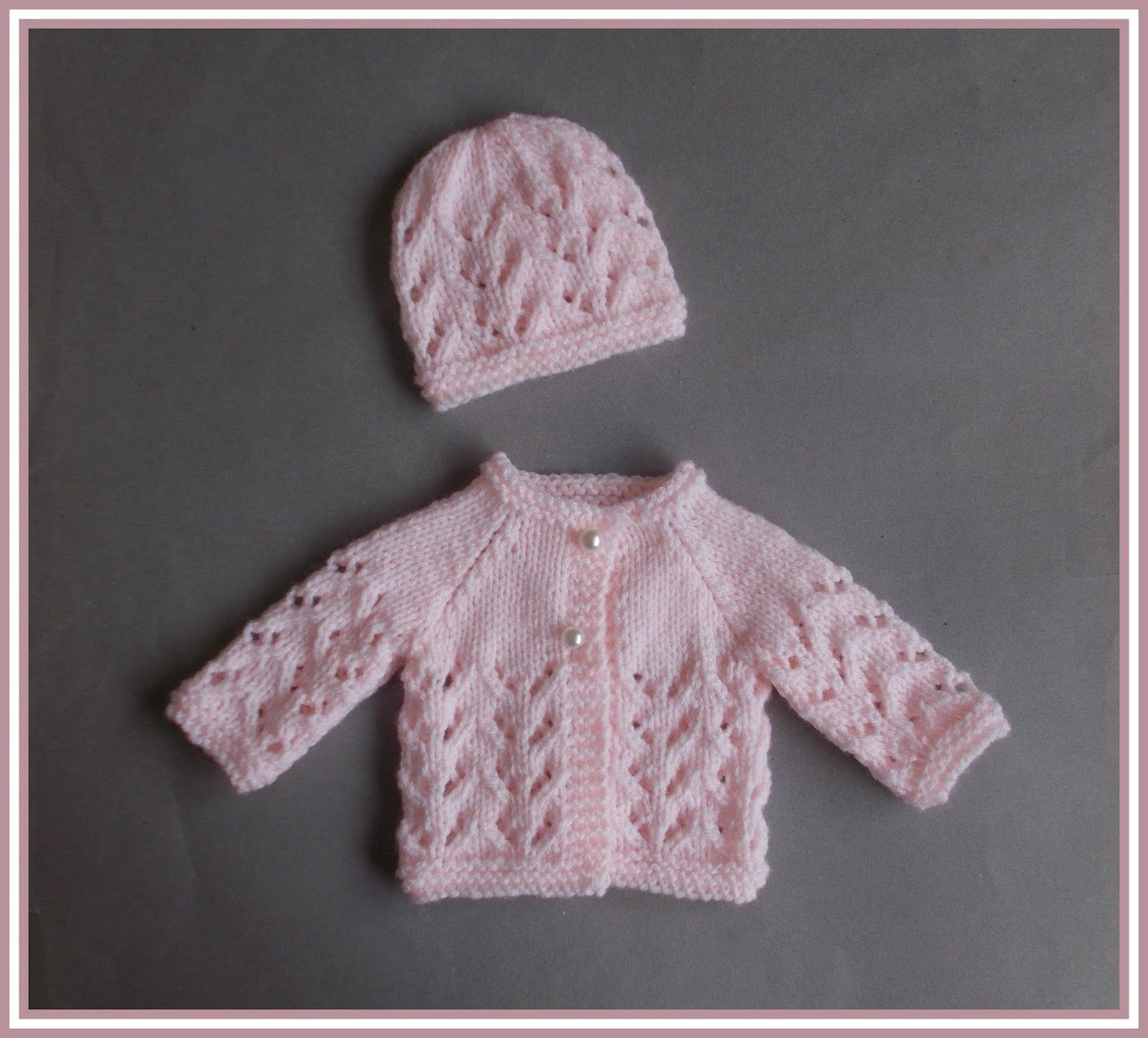 546740a81 marianna s lazy daisy days  Little Bibi - Preemie Baby Jacket   Hat ...