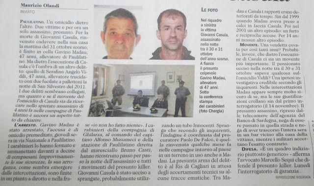 SCRIVOQUANDOVOGLIO: PAULILATINO:UNA LUNGA SCIA DI SANGUE,PRESO L'ASSAS...
