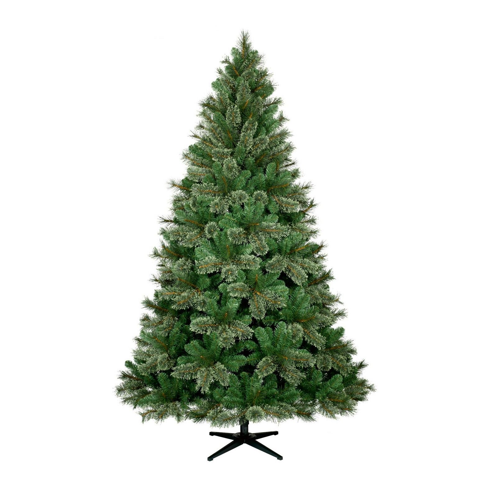 Add elegance to any room with the 7.5' Unlit Virginia Pine ...