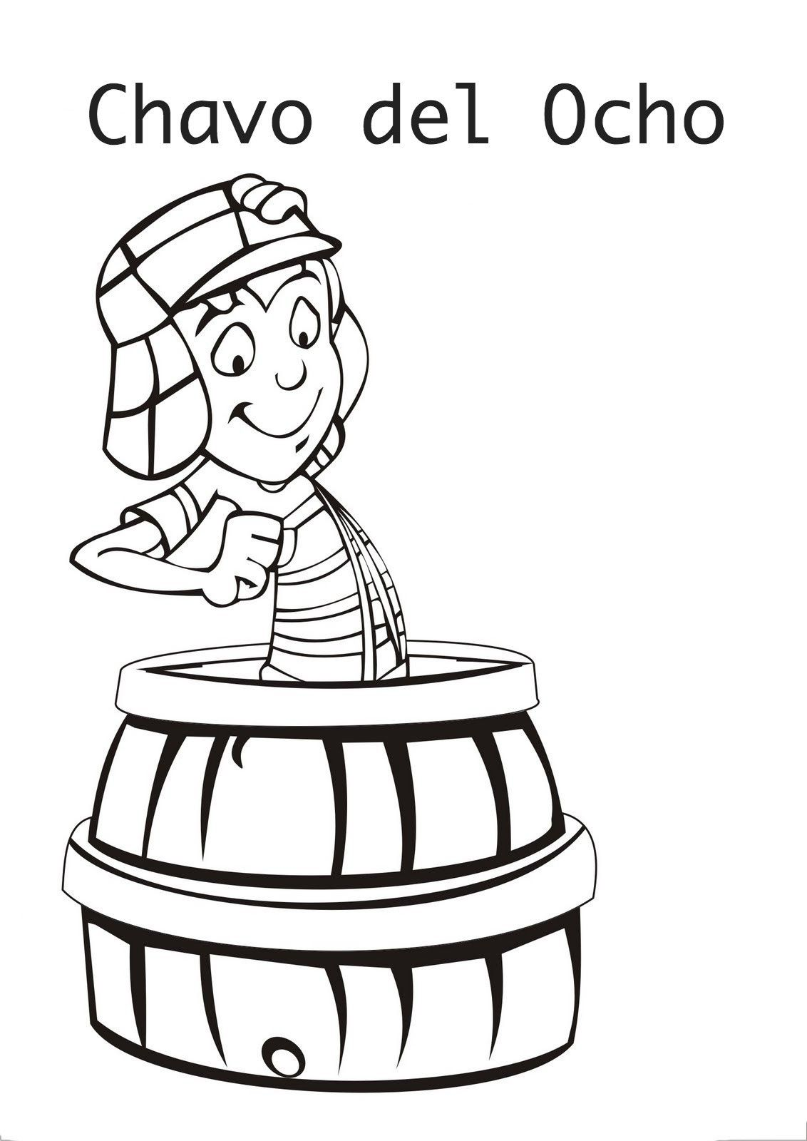 el-chavo-coloring-pages-3.jpg (1132×1600) | altares | Pinterest ...