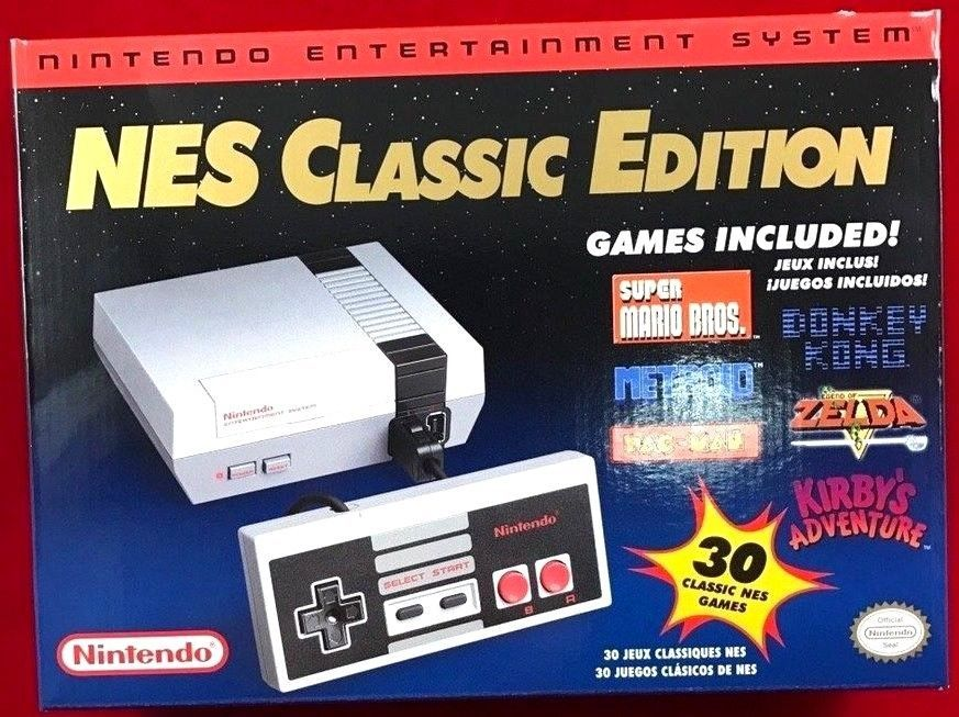 Nintendo Nes Classic Edition System U S Version Authentic W