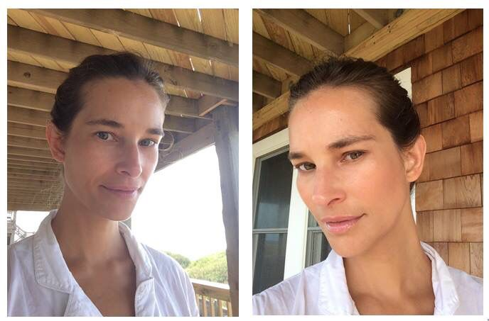 Before After Makeup Ditched Chemical Heavy Face Wash For Charcoal