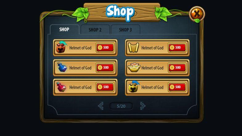 Fantasy Gui Pack - Asset Store | UI | Asset store, Game ui, Fantasy