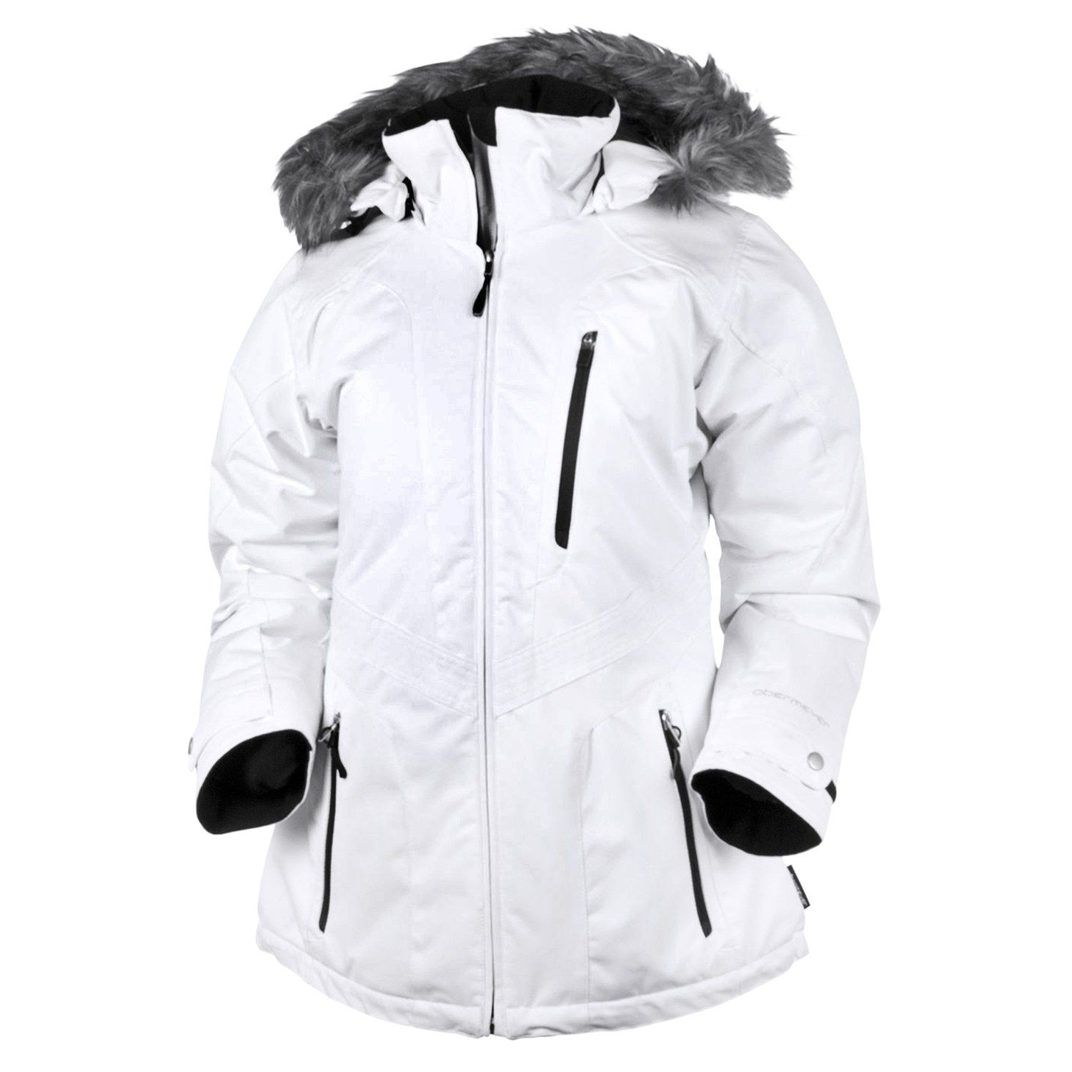 Obermeyer Positano Jacket - Insulated (For Women) in White