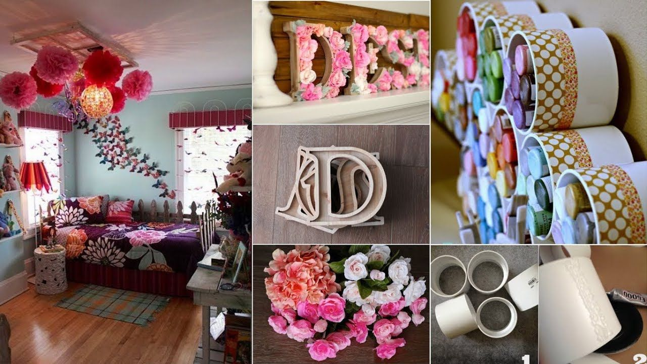 Make Your Own Awesome Room Decor 20 Easy Room Decor For You Youtube Easy Room Decor Diy Room Decor Diy Crafts