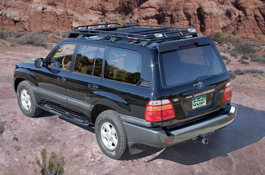 Nice Gobi Toyota Land Cruiser 100 Series Stealth Roof Rack   GTLC100STL   Toyota Land  Cruiser 100