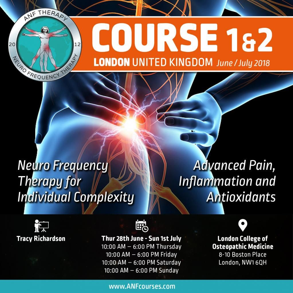 ANF Therapy Course 1 & 2 We are excited to come back to