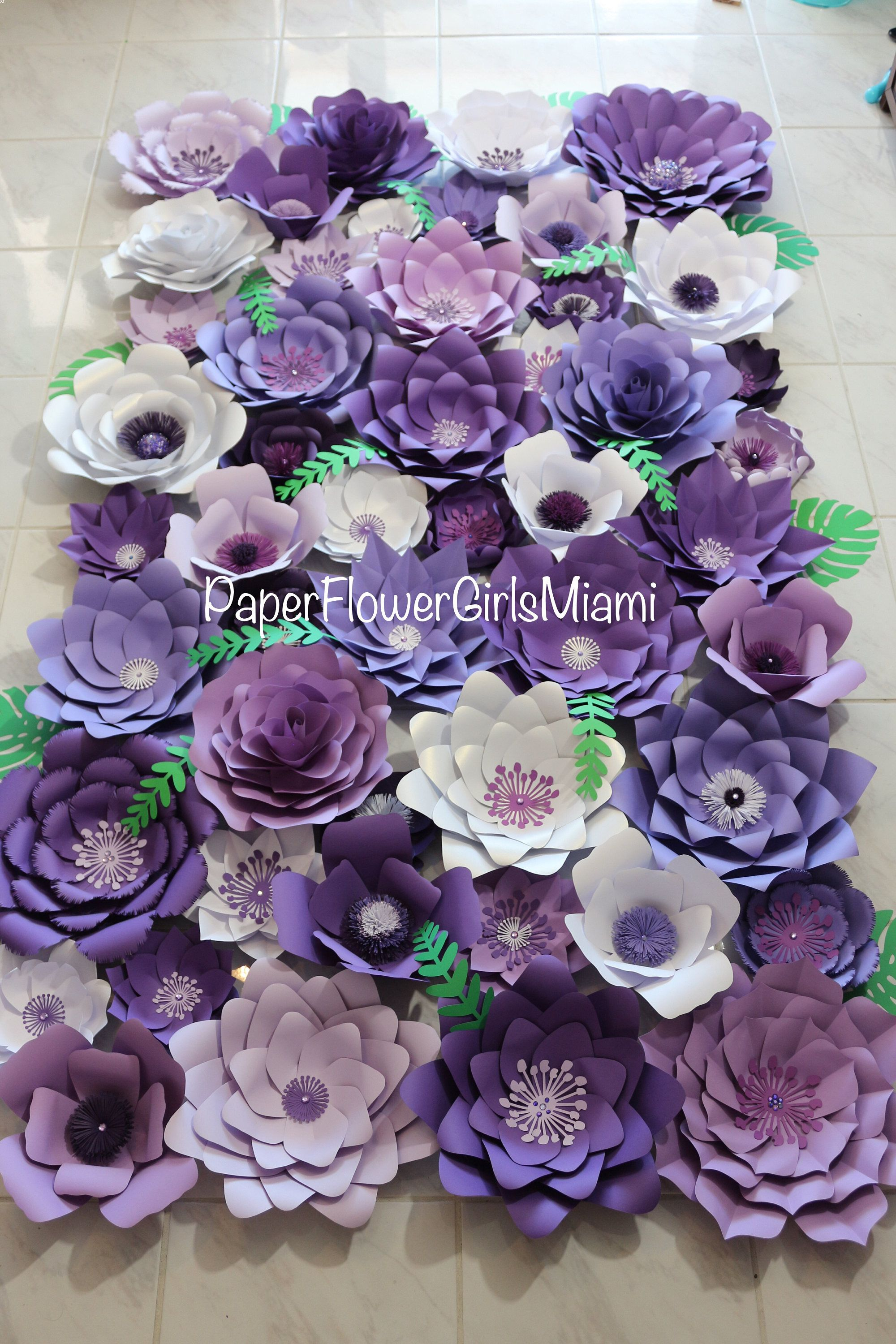 Giant Paper Flower Backdrop Dm For Order Customize The Size And