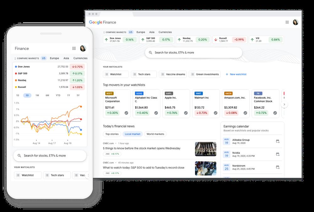 Google Finance Makes Investing Information More Accessible Tin Tran Https Tintran Org 0919992336 Tin Tran Tintran Tranta Investing Finance Marketing Trends