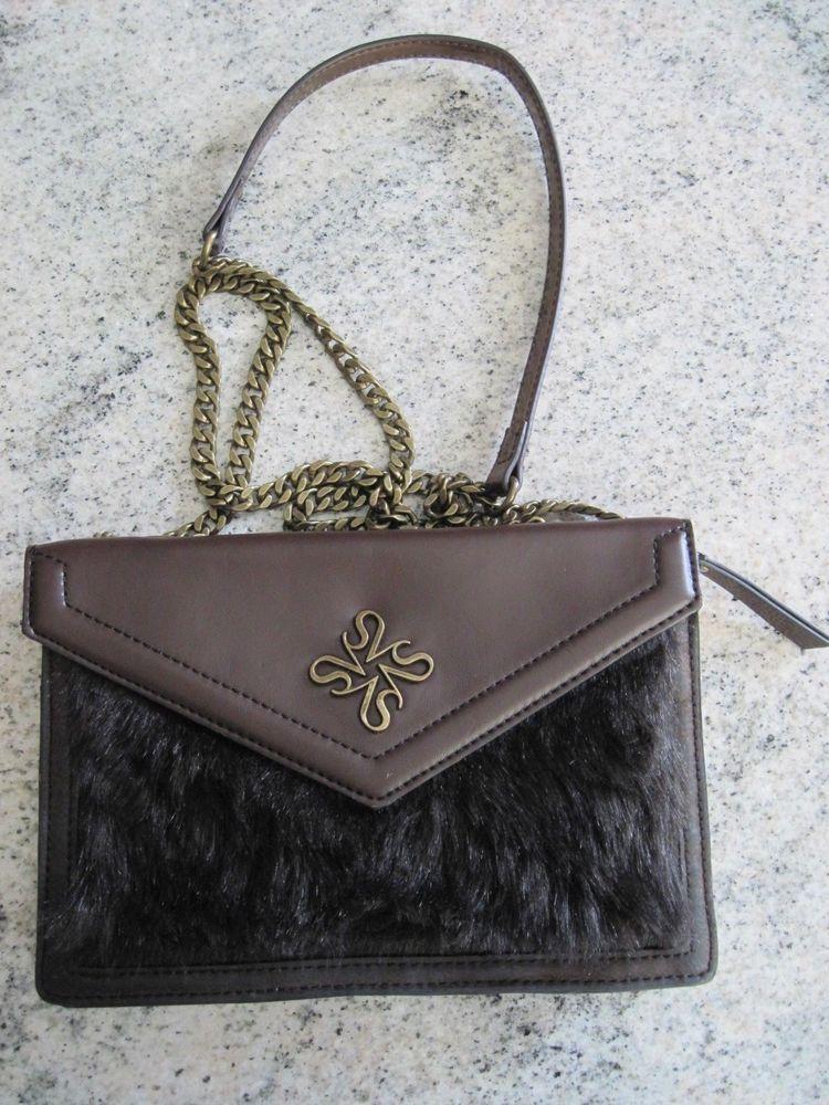 32ae296bb432 SIMPLY VERA by Vera Wang brown crossbody handbag