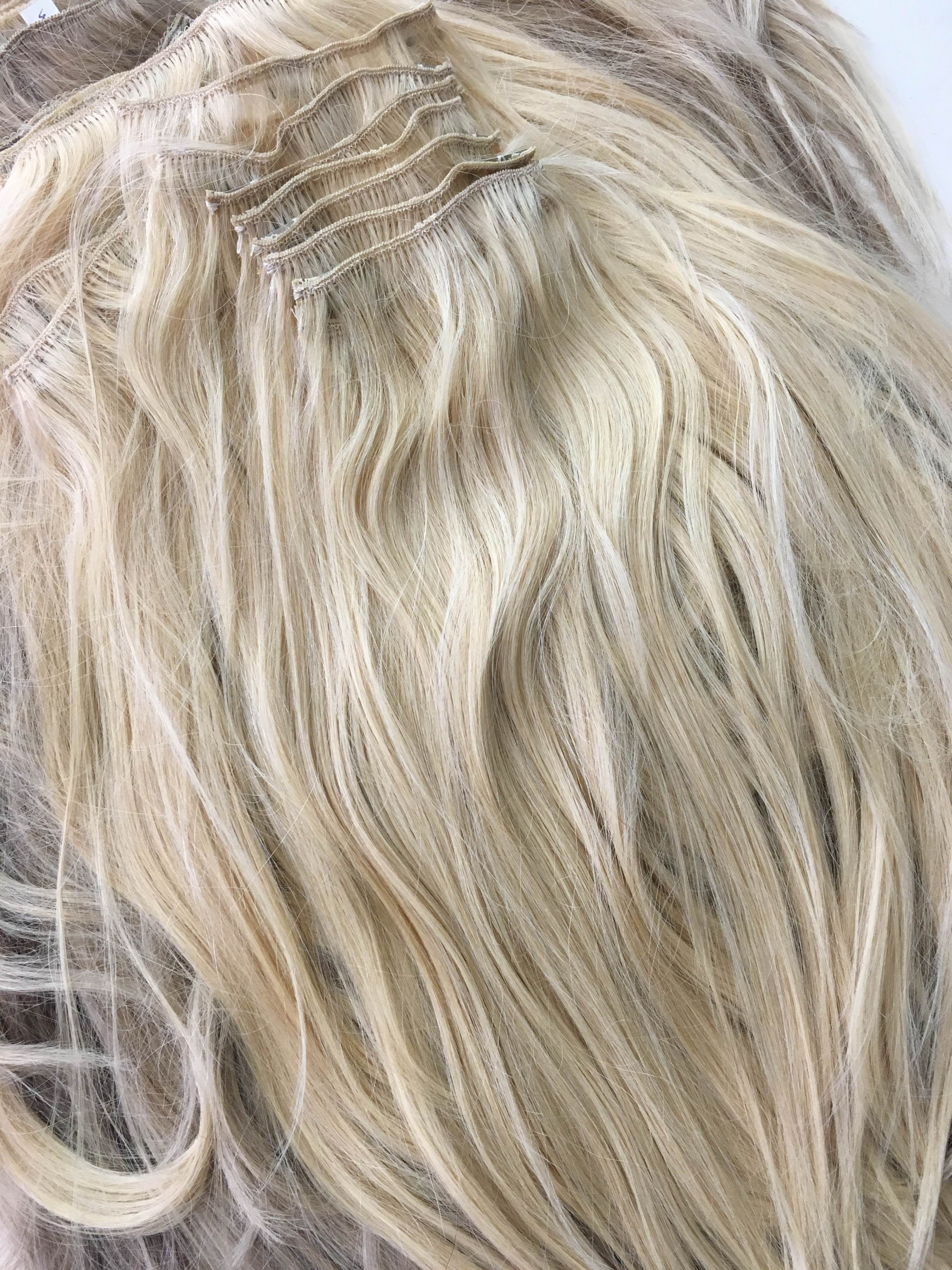 1oo hair extension Wefts for Mim\'s 100 layers hair extensions ...