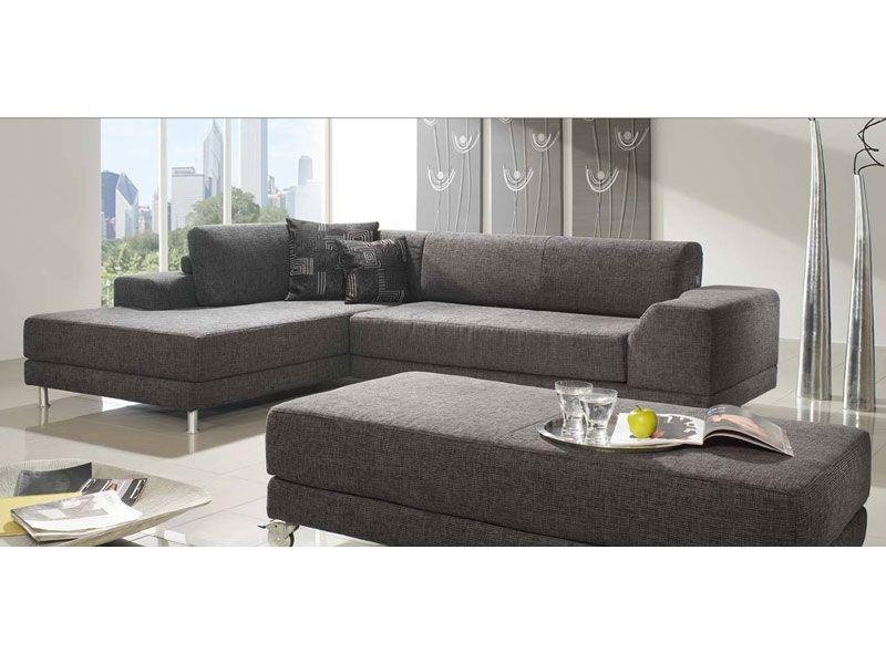 K W Mbel Loop 7440 Ecksofa Sofagarnitur Sofa Und Longchair Polstergarnitur Couch Fr Wohnzimmer In Bezug Stoff Oder Leder Whlbar Bei ALCO