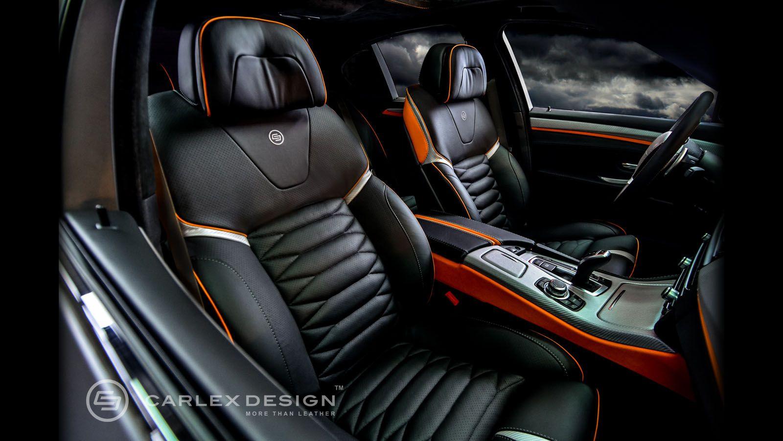 Bmw F10 Custom Interior Carlex Design With Images Car Seats