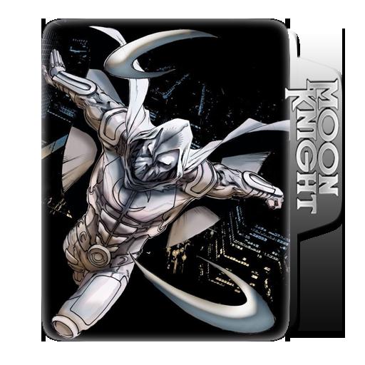 MOON KNIGHT   WINDOWS FOLDER ICONS (COMIC BOOK)   Folder