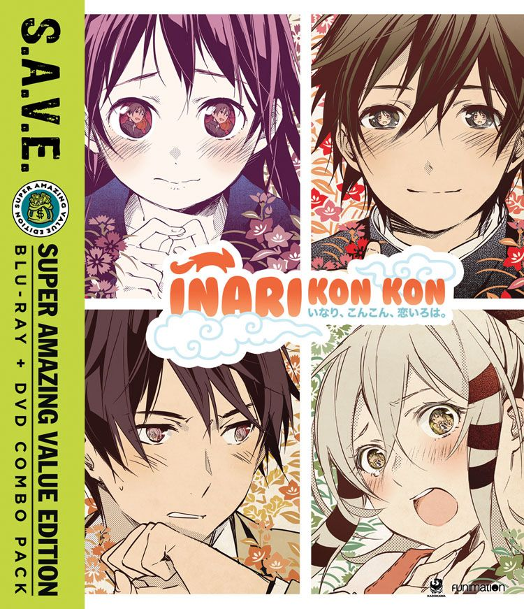 Inari Kon Kon Bluray/DVD SAVE Edition Inari, Dvd, Anime