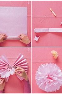 How to make tissue pom poms tissue pom poms pom poms and crafts how to make tissue pom poms mightylinksfo