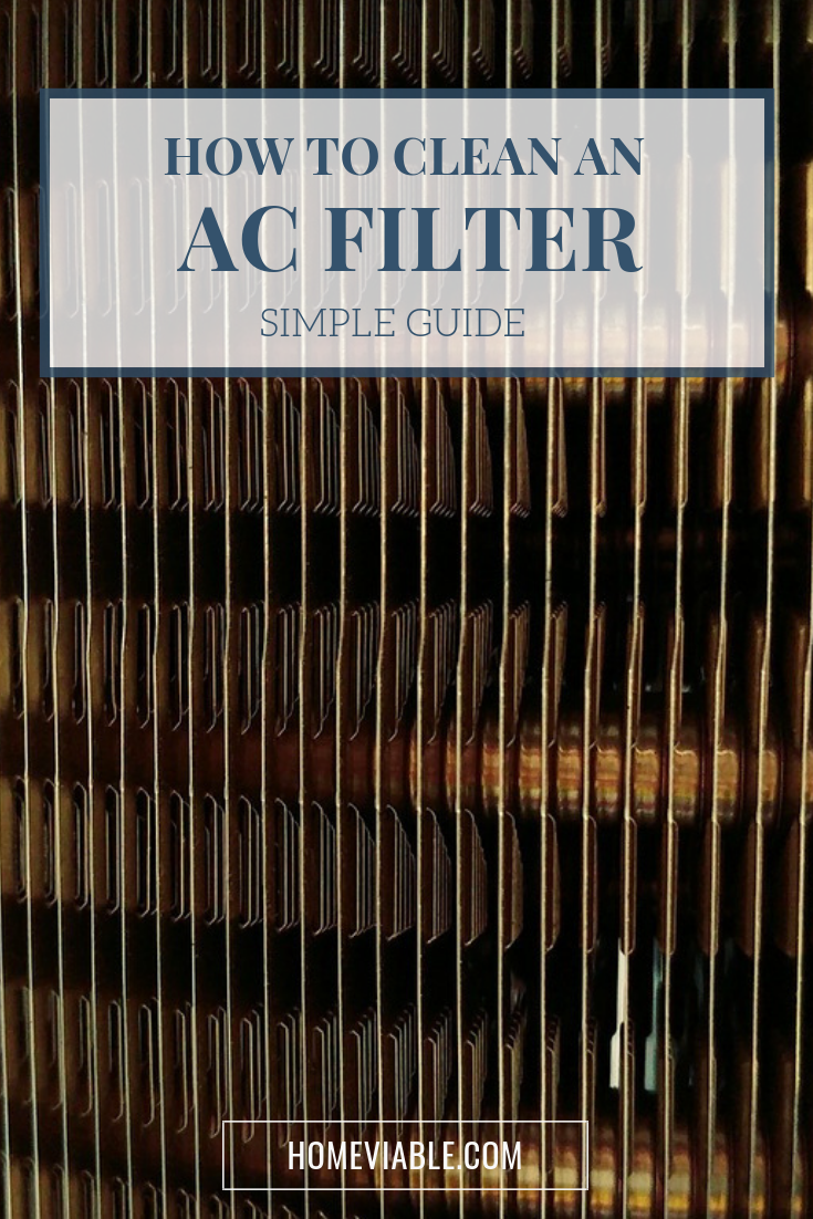 Learn the steps required for how to clean your AC filter