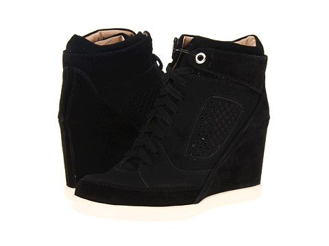 bb50f9bfdd5b French Connection Marla · Black Wedge SneakersBlack ...