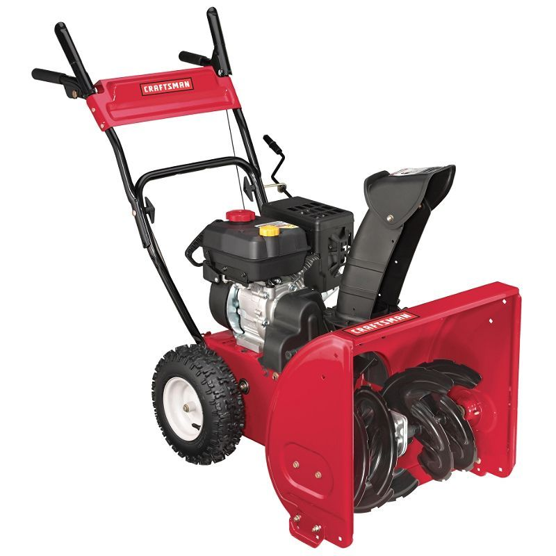 Craftsman Snow Blower 22 In Dual Stage 179cc Sears Outlet 397 93 Snow Blower Outdoor Power Equipment Blowers