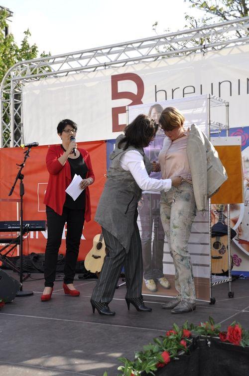 Reginas Look wurde auf dem Ladies Day in Reutlingen präsentiert. #LadiesDay #Styling #Stilberatung #Reutlingen