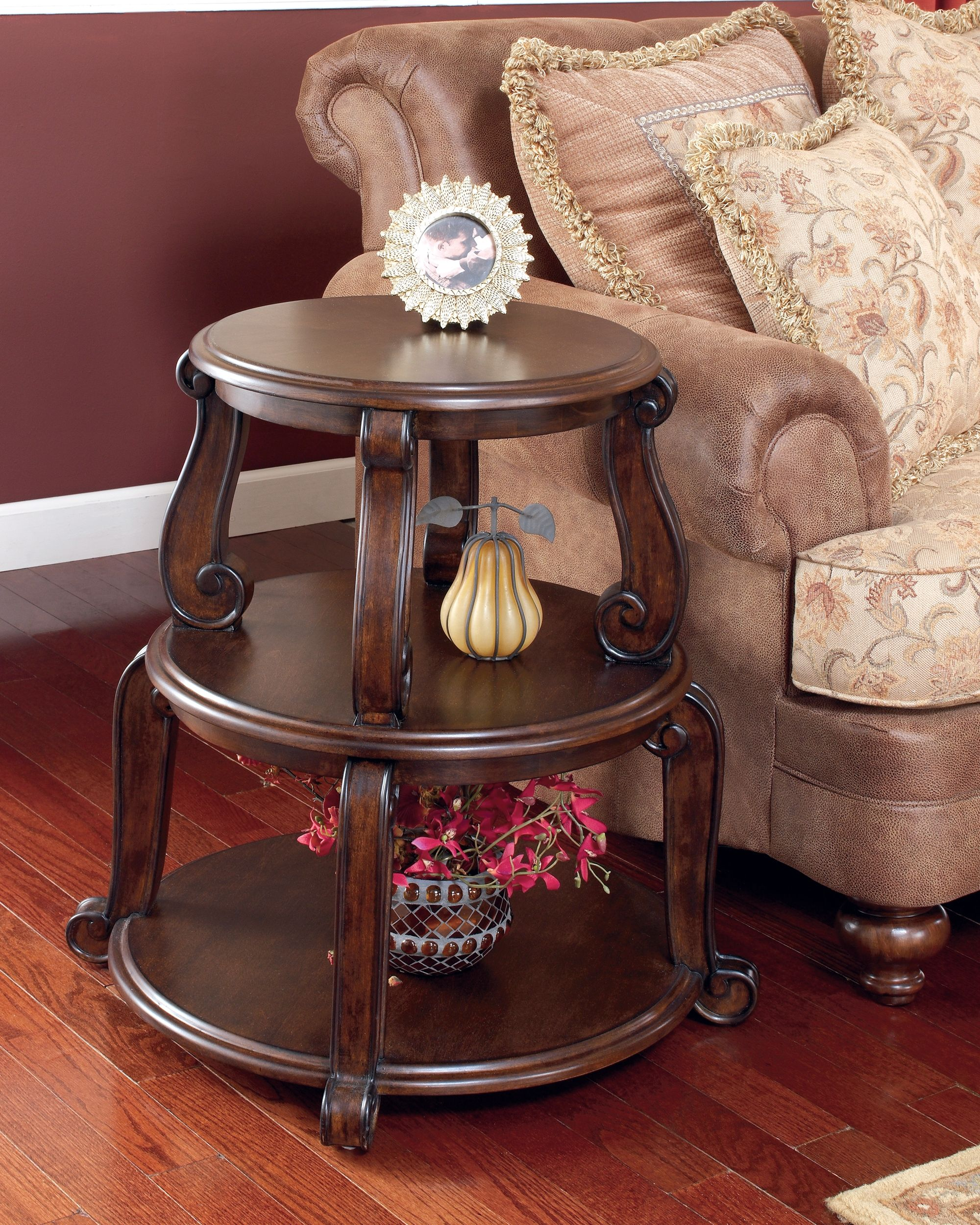 brookfield end table dark brown pinterest products