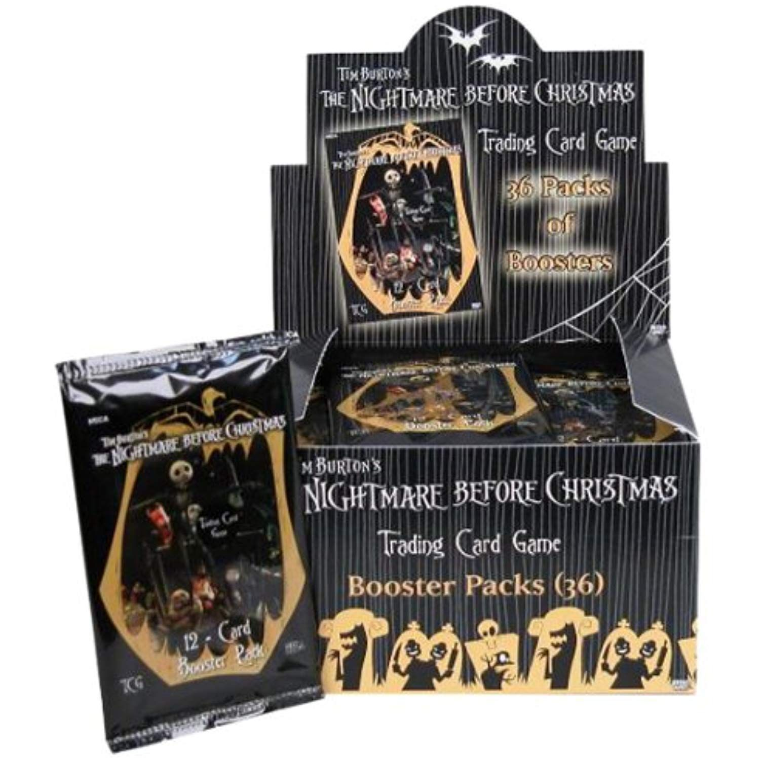 Neca Nightmare Before Christmas CCG Booster Pack Box, 36
