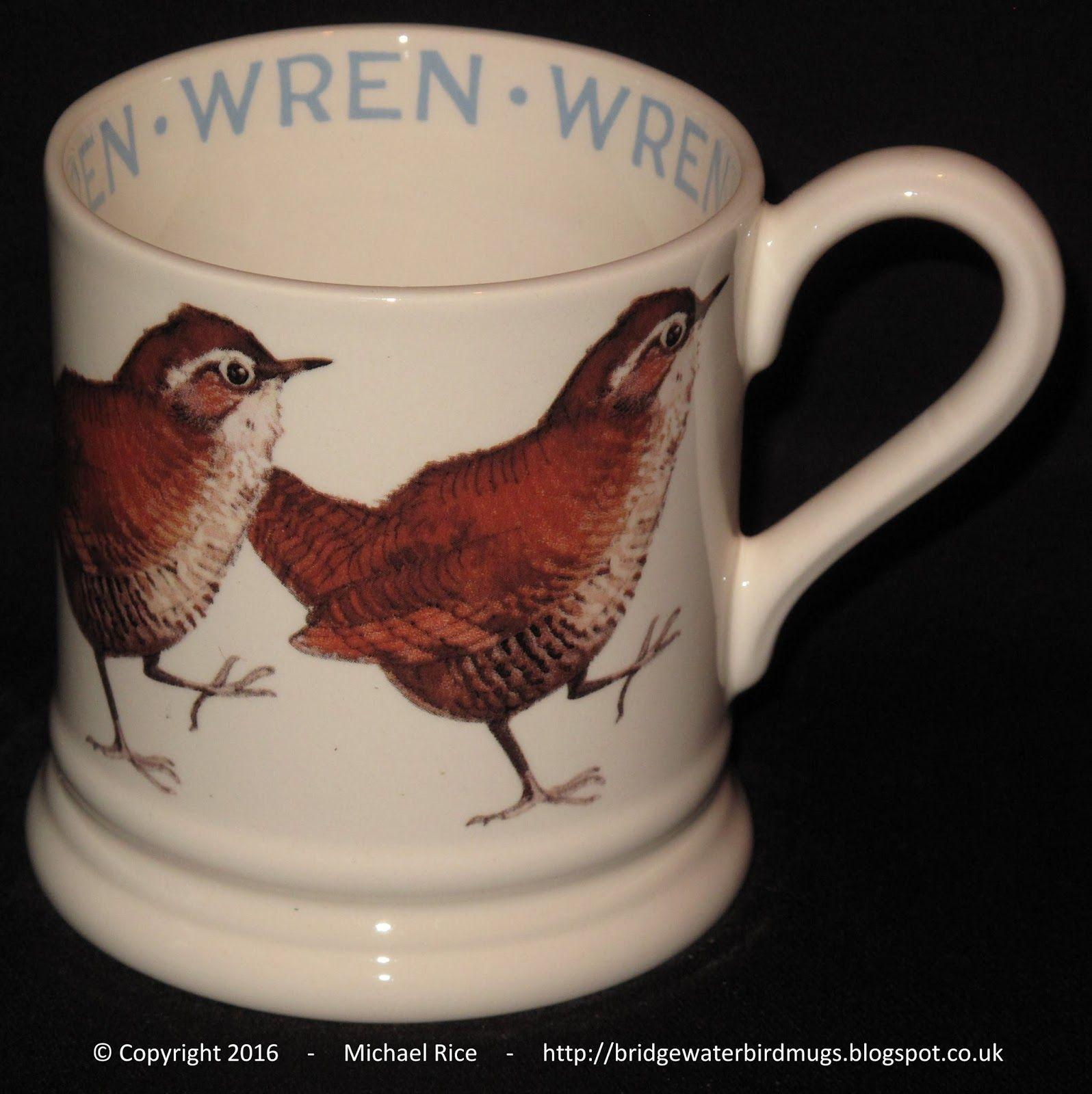 Wren 0.5 Pint Mug Emma bridgewater, Wren, Bridgewater