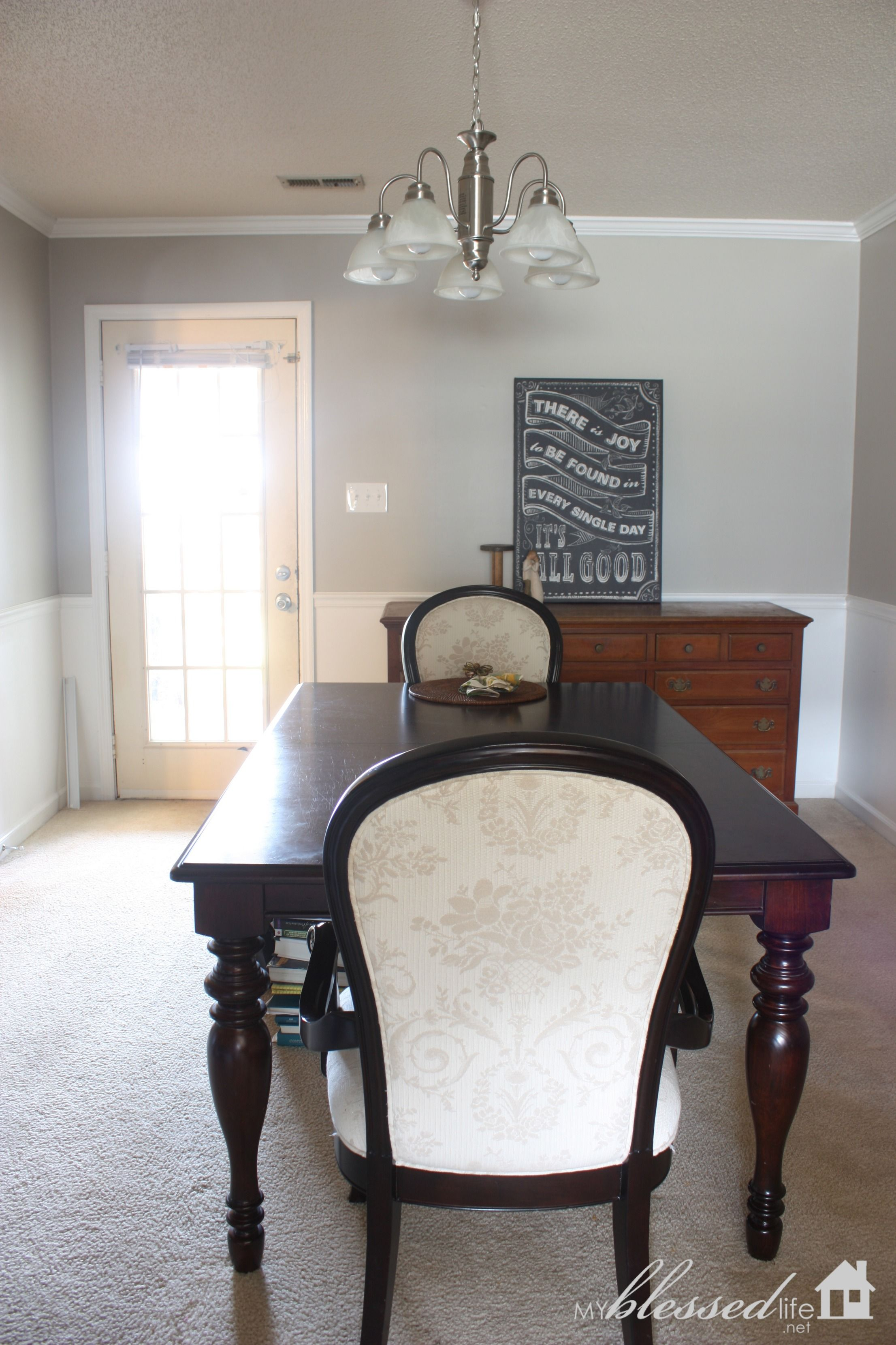 Sherwin Williams Amazing Gray Dining Room Paint Makeover Entrancing Dining Room Colors Sherwin Williams Inspiration