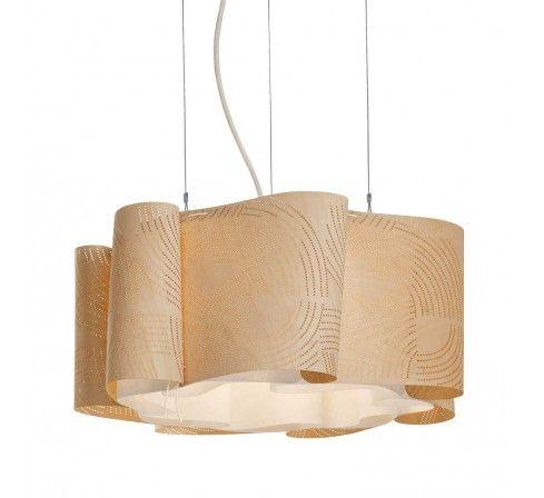 Mademoiselle, suspension éco design en bois, luminaire écologique made in France, Les Confidentielles. http://www.greeen-store.com/fr/lustres-suspensions/8906-Mademoiselle-suspension-poetique-made-in-france.html