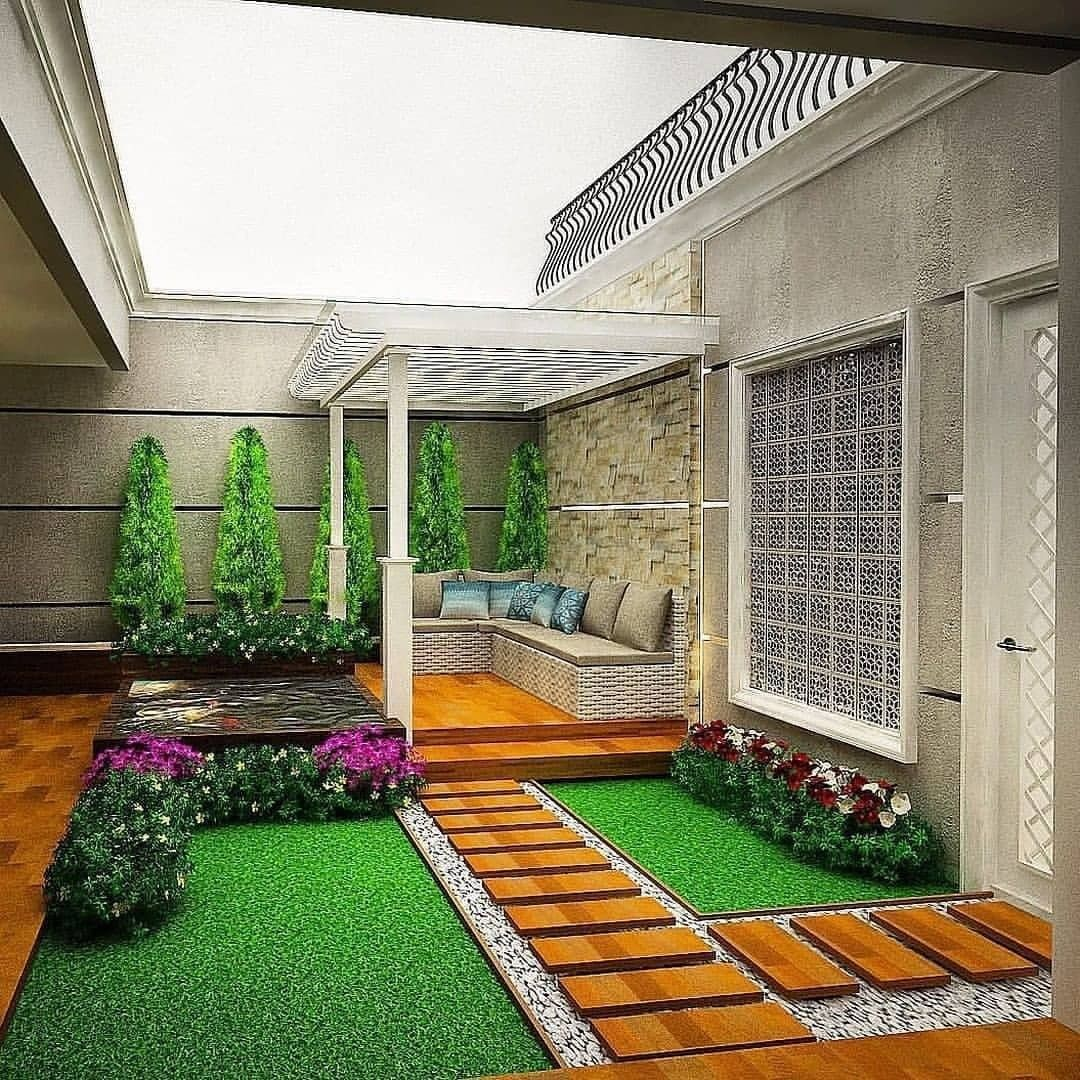 Desain Taman Minimalis Ala Villa Cek Bahan Bangunan