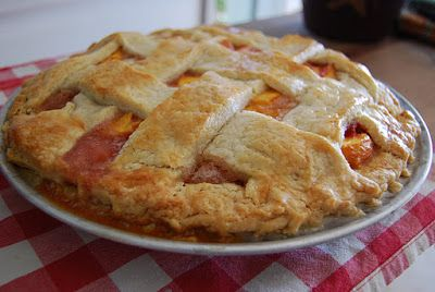 Gather Round Our Table: Peach Pie