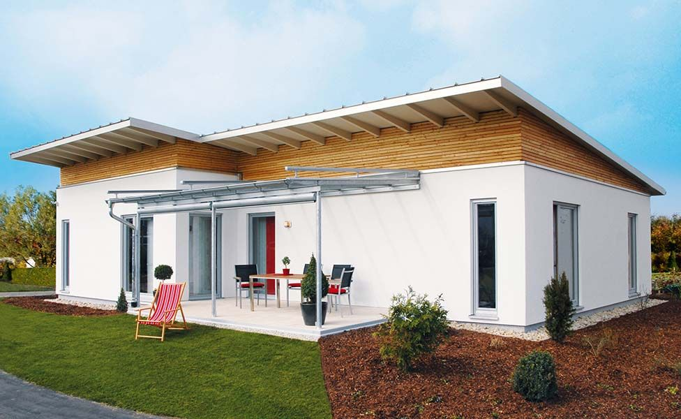 Singlehaus von Haas Haus als Bungalow Haus bungalow